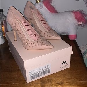 Worn one time! Blush Madison pumps!